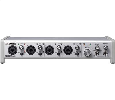 TASCAM Series 208i - USB Audio/MIDI Interface, 20in/8out2