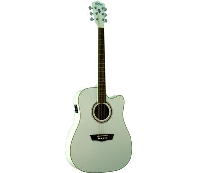 Washburn WD910SCEWH Weiss