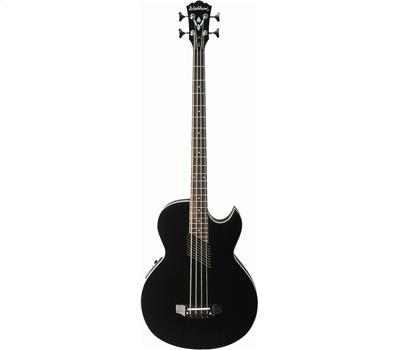 WASHBURN AB10B Acoustic Bass schwarz