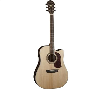 Washburn HD20SCE Akustik-Gitarre, Natural1