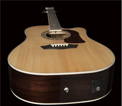 Washburn HD20SCE Akustik-Gitarre, Natural3