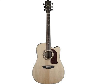 Washburn HD20SCE Akustik-Gitarre, Natural5