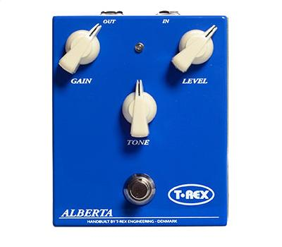 T-REX Alberta Danish Collection - 2-Kanal Overdrive Ped1
