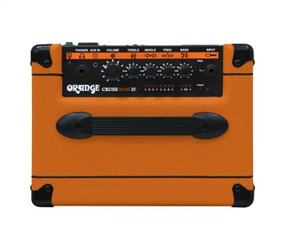 "ORANGE Crush Bass 25 - Combo 1x8"", aktiver 3-Band EQ, Ko3"