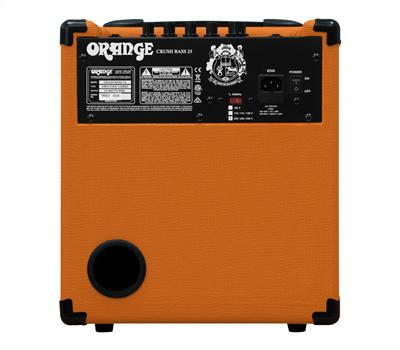 "ORANGE Crush Bass 25 - Combo 1x8"", aktiver 3-Band EQ, Ko4"
