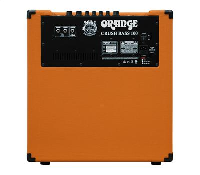 "ORANGE Crush Bass 100 - Combo 1x12"", aktiver 3-Band EQ, 3"