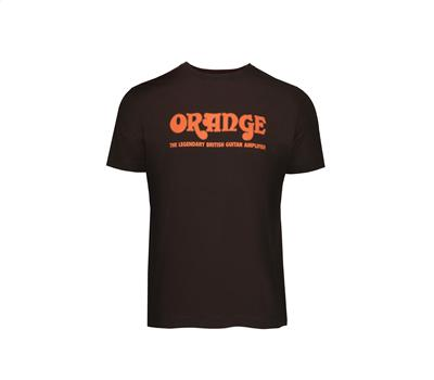 "ORANGE Classic Brown Orange T-Shirt ""L"""