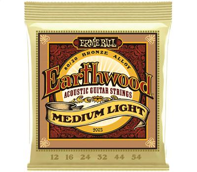 Ernie Ball 2003 Earthwood Bronze Medium Light .012-.054