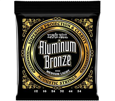 Ernie Ball 2566 Aluminum Bronze Medium Light .012-.054