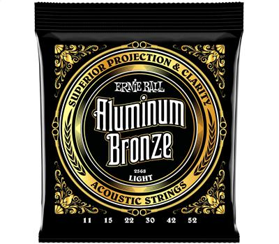 Ernie Ball 2568 Aluminum Bronze Light .011-.052